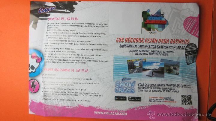 Juguetes antiguos y Juegos de colección: COFRE SECRETO DE COLA CAO NUEVO ABIERTO SOLO PARA FOTOS - Foto 2 - 53005969