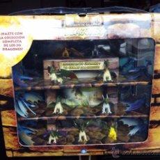Juguetes antiguos y Juegos de colección: OFERTÓN COMBATE DE GIGANTES DRAGONES COLECCIÓN COMPLETA UBISOFT CON CAJA EXPOSITOR. REGALO EL ALBUM.. Lote 148177008