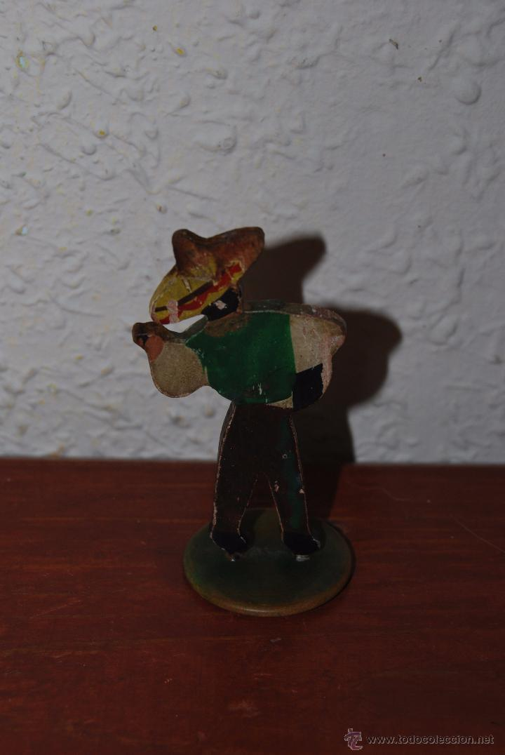 Figura De Madera Con Peana De Plastico Mexica Comprar En