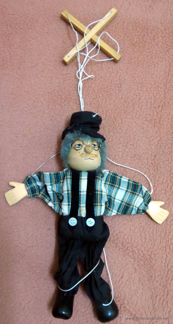 Marioneta Payaso Abuelo Anos 80 Comprar En Todocoleccion 53991370