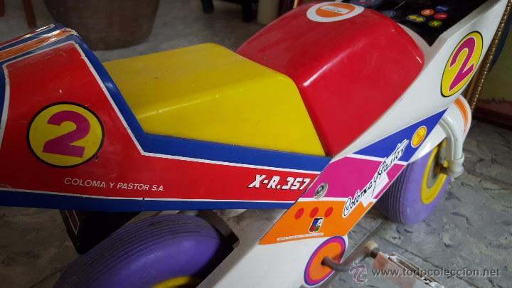 Juguetes antiguos y Juegos de colección: MOTO A PEDALES DE JUGUETE PARA NIÑOS, MARCA COLOMA Y PASTOR - Foto 4 - 54102685