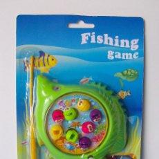 Juguetes antiguos y Juegos de colección: JUEGO DE PESCA FISHING GAME. NUEVO A ESTRENAR. SIN ABRIR. Lote 54159148