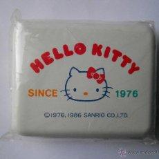 Juguetes antiguos y Juegos de colección: CAJA METÁLICA HELLO KITTY DE SANRIO. 1986. PRECINTADA. MADE IN JAPAN. Lote 54234903