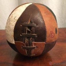 Juguetes antiguos y Juegos de colección - ANTIGUO BALON DE PIEL - 54360757