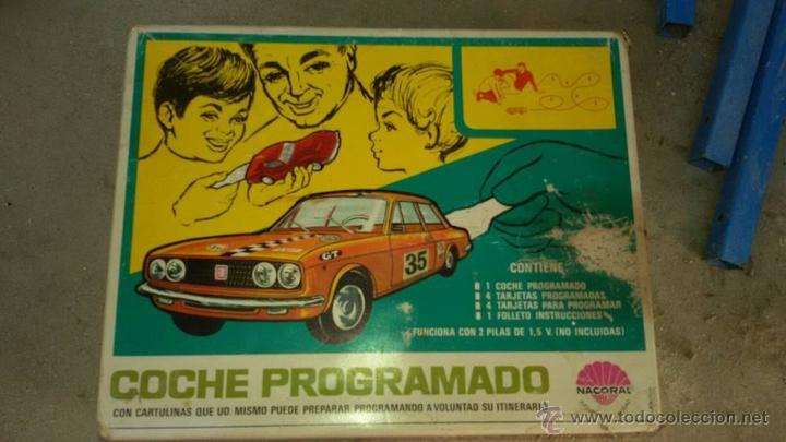 COCHE PROGRAMADO (Juguetes - Varios)