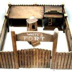 Juguetes antiguos y Juegos de colección: WHITE´S FORT - FUERTE DE MADERA DE LOS AÑOS 50 . Lote 54653329