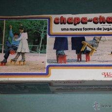 Juguetes antiguos y Juegos de colección: CHAPA CHAP. Lote 54846929