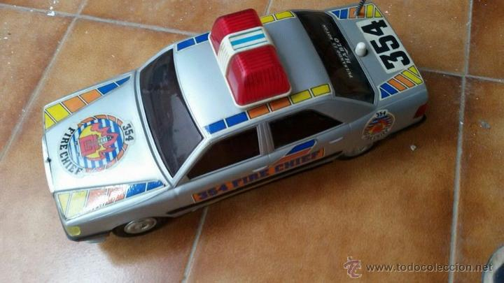 COCHE POLICIA ROMAN (Juguetes - Varios)