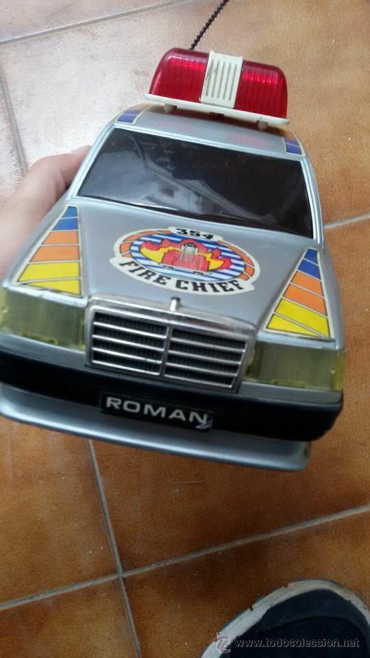 Juguetes antiguos y Juegos de colección: coche policia roman - Foto 2 - 54920947