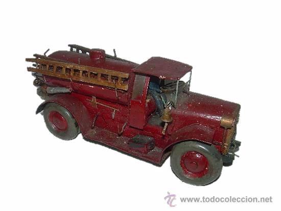 Antiguo y bonito juguete de madera camion comprar - Juguetes antiguos de madera ...