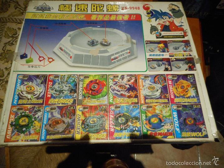 Juguetes antiguos y Juegos de colección: overspeed gyro juguete japones - Foto 2 - 55146016
