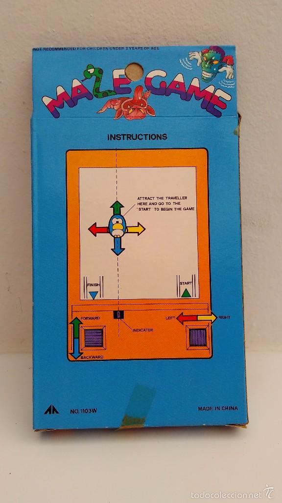 maze game juego vintage epoca game boy watch iman
