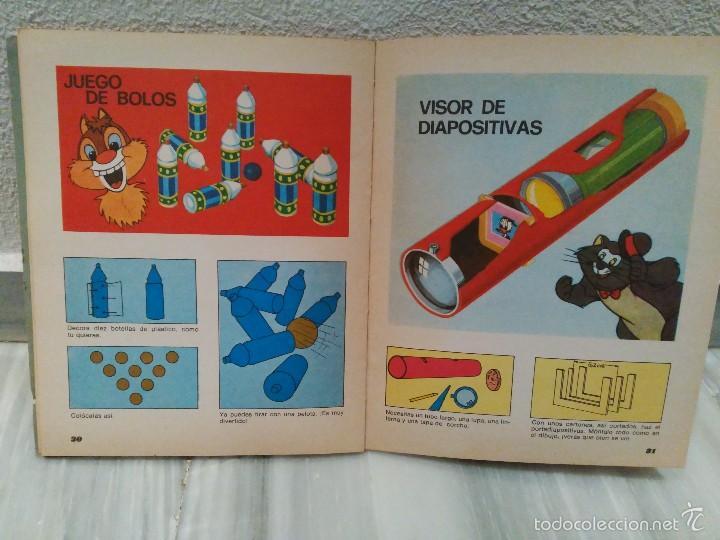 Juguetes antiguos y Juegos de colección: LIBRO MAGIA Y JUEGOS DISNEY - COLECCION VACACIONES - EDITORIAL SUSAETA - MUY RARO 1975 - Foto 3 - 55324007