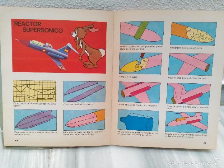 Juguetes antiguos y Juegos de colección: LIBRO MAGIA Y JUEGOS DISNEY - COLECCION VACACIONES - EDITORIAL SUSAETA - MUY RARO 1975 - Foto 4 - 55324007