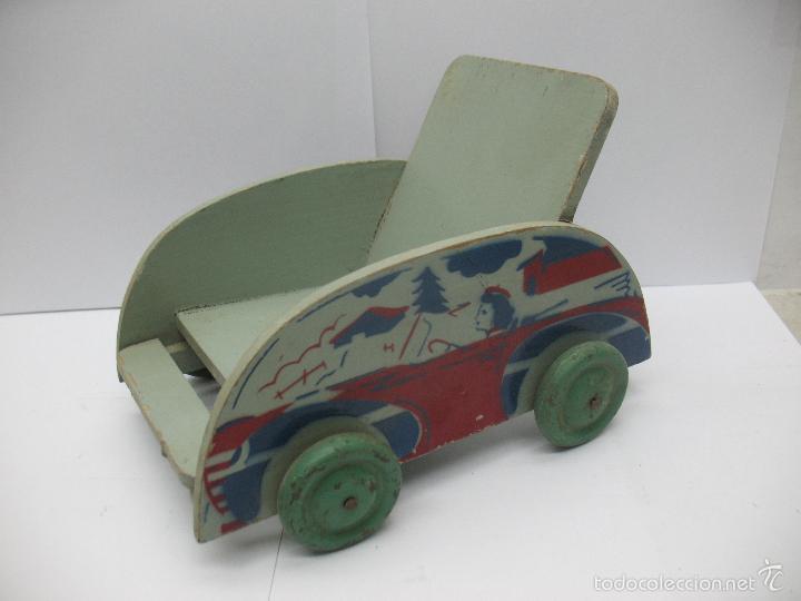 Denia Antiguo Carro De Madera Comprar En Todocoleccion 55746747