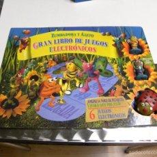 Juguetes antiguos y Juegos de colección: ZUMBADORA Y ALETO-GRAN LIBRO DE JUEGOS ELECTRONICOS. Lote 177771398