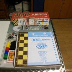Juguetes antiguos y Juegos de colección: 300 JUEGOS DE CAYRO JUEGOS. Lote 56239404