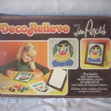 Juguetes antiguos y Juegos de colección: DECORELIEVE DE LA SRTA. PEPIS. Lote 56564881