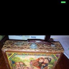 Juguetes antiguos y Juegos de colección: MALETIN ESCOLAR MADERA 1930. Lote 56643159