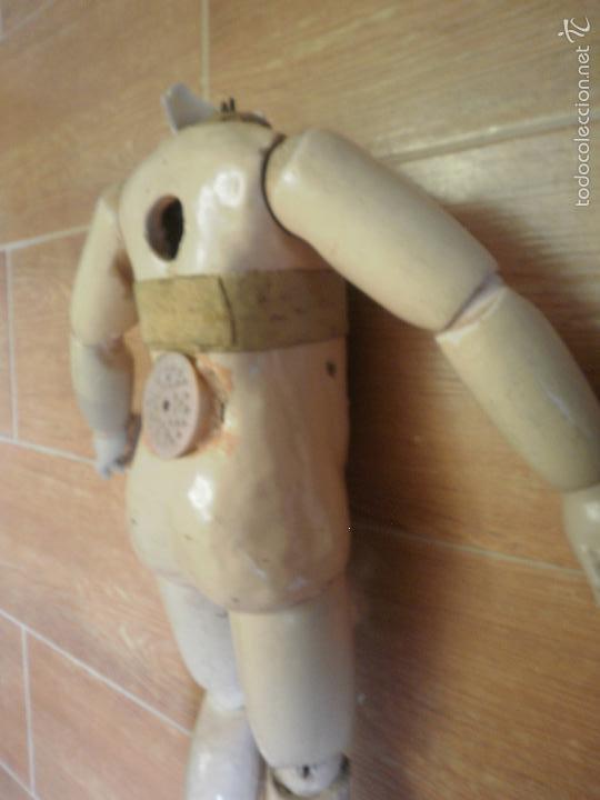 Juguetes antiguos y Juegos de colección: Cuerpo de muñeca - Foto 7 - 56692483