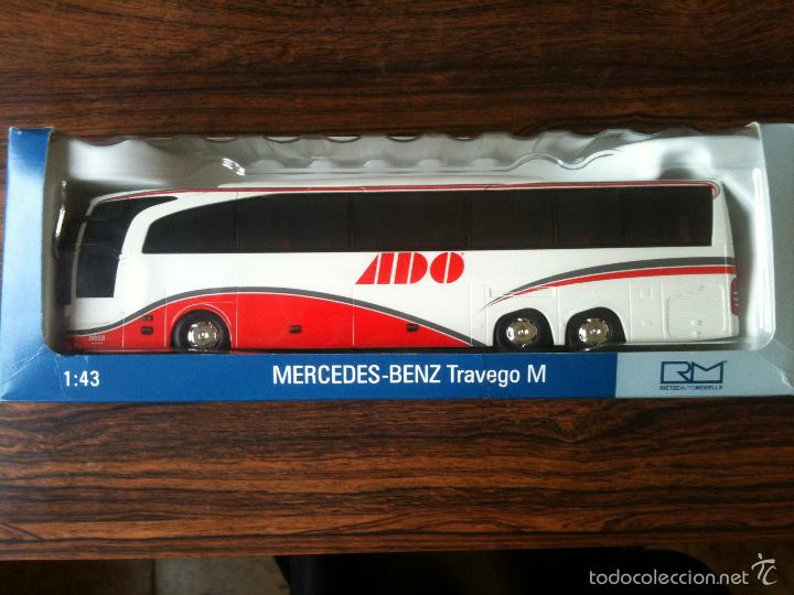 Autobus mercedes benz travego m escala 1 43 mad comprar for Mercedes benz made in germany