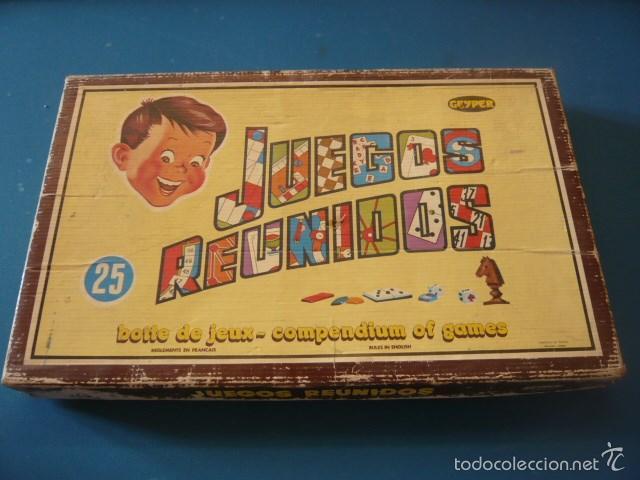 Lote 2 Juegos Reunidos Geyper 25 Comprar En Todocoleccion 57046024