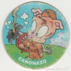 Giocattoli antichi e Giochi di collezione: COLECCIÓN TAZOS MATUTANO THE MATUTAZO COLLECTION TAZO CAPS POGS 29 CAÑONAZO HAMTON 1 PUNTO 1994. Lote 57832483