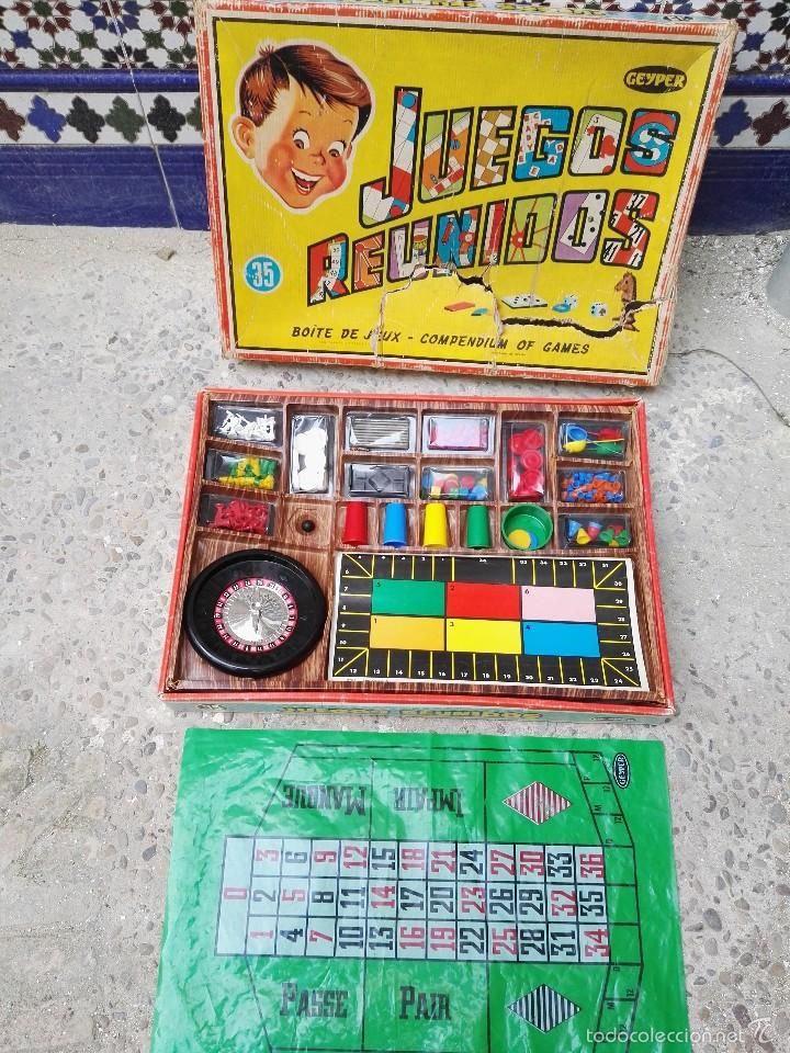 Juegos Reunidos Geyper 35 Comprar En Todocoleccion 57847020