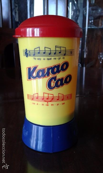 KARAO CAO. KARAOKE DE COLA CAO. (Juguetes - Varios)
