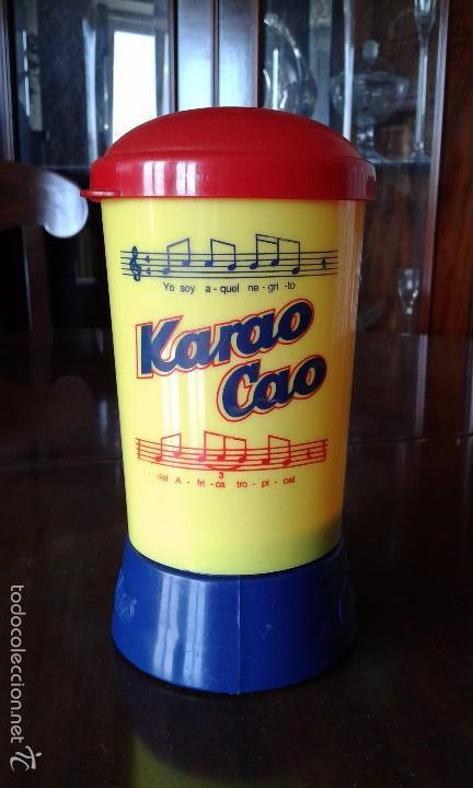 Juguetes antiguos y Juegos de colección: Karao Cao. Karaoke de Cola Cao. - Foto 4 - 57939176