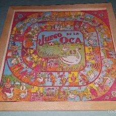 Juguetes antiguos y Juegos de colección: JUEGO DE LA OCA Y PARCHIS. Lote 57974466
