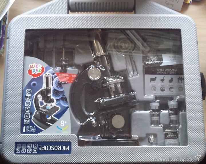 Maletin Equipo De Microscopio Y Otros Objetos A Comprar En