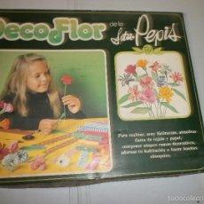 Juguetes antiguos y Juegos de colección: DECO FLOR DE LA SRTA PEPIS AÑOS 70. Lote 58133580