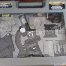 Juguetes antiguos y Juegos de colección: MICROSCOPIO DELUXE MICRO-SCIENCE. Lote 58246684