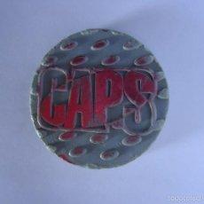 Jouets Anciens et Jeux de collection: COLECCIÓN TAZOS NINTENDO POKÉMON CAPS MASTER TAZO CAPS POGS SLAMMER LOGO CAPS COLOR GRIS. Lote 58451997