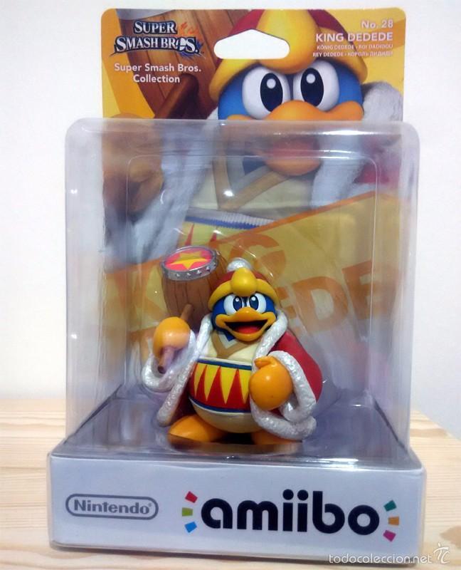 Amiibo King Dedede Nº 28 Super Smash Bros Kaufen Anderes
