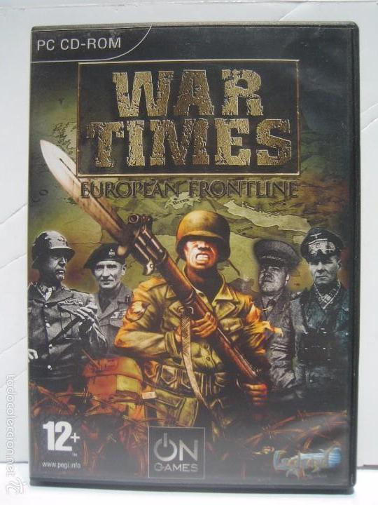 Juego Pc War Times European Frontline Est Comprar En