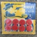 Juguetes antiguos y Juegos de colección: ANTIGUO BLISTER DE FULMINANTES MIRAFE - FULMINANTE - ORIGINAL - LO PREFIERE MI PISTOLA PORQUE NO FAL. Lote 167721658