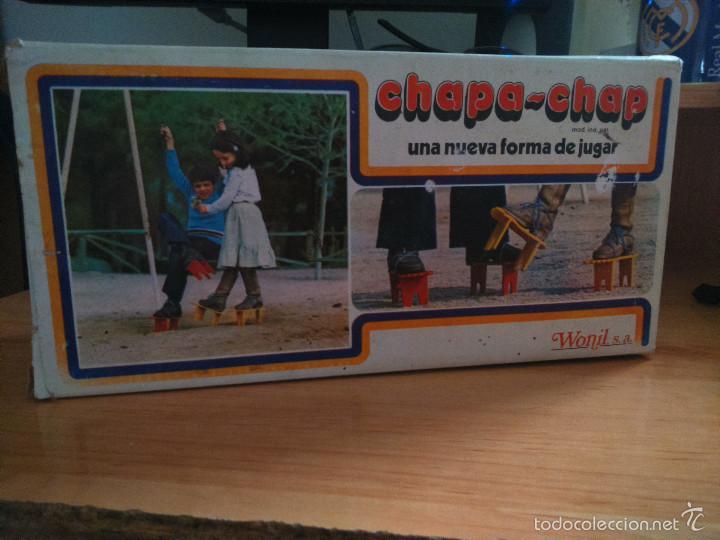 Juguetes antiguos y Juegos de colección: antiguo chapa chap de wonil s.l. años 70 - Foto 2 - 58680456