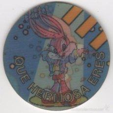 Giocattoli antichi e Giochi di collezione: COLECCIÓN TAZOS MATUTANO THE MATUTAZO COLLECTION MAGIC TAZO CAPS 138 QUE HERMOSA ERES BABS BUNNY. Lote 59789357