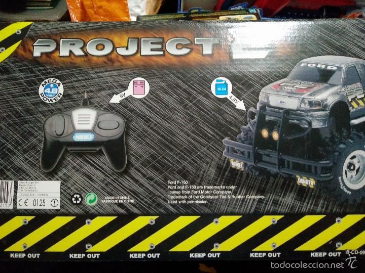 Juguetes antiguos y Juegos de colección: antiguo grande coche radio control project 2 NIKKO nuevo sin estrenar - Foto 4 - 150189573