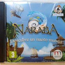 Juguetes antiguos y Juegos de colección: NARABA VIDEO JUEGO EDUCATIVO DE MICRONET. Lote 60932539
