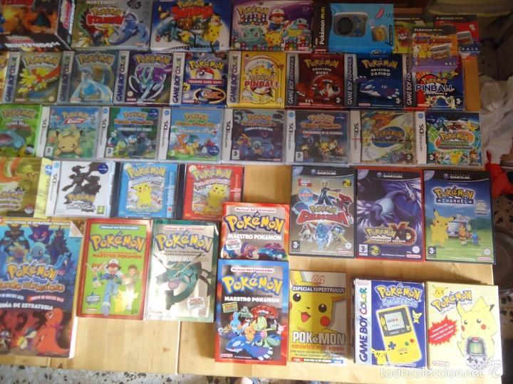 Juguetes antiguos y Juegos de colección: POKÉMON NINTENDO GAME BOY COLOR ADVANCE DS 64 PC ROJO AZUL AMARILLO CRISTAL PINBALL STADIUM MINI - Foto 3 - 61138795