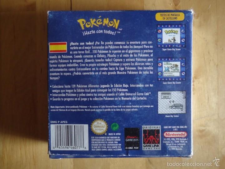Juguetes antiguos y Juegos de colección: POKÉMON NINTENDO GAME BOY COLOR ADVANCE DS 64 PC ROJO AZUL AMARILLO CRISTAL PINBALL STADIUM MINI - Foto 8 - 61138795