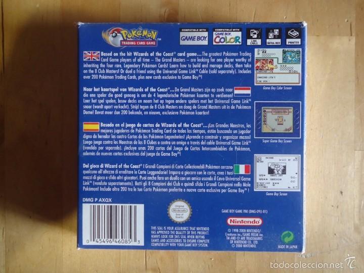 Juguetes antiguos y Juegos de colección: POKÉMON NINTENDO GAME BOY COLOR ADVANCE DS 64 PC ROJO AZUL AMARILLO CRISTAL PINBALL STADIUM MINI - Foto 26 - 61138795