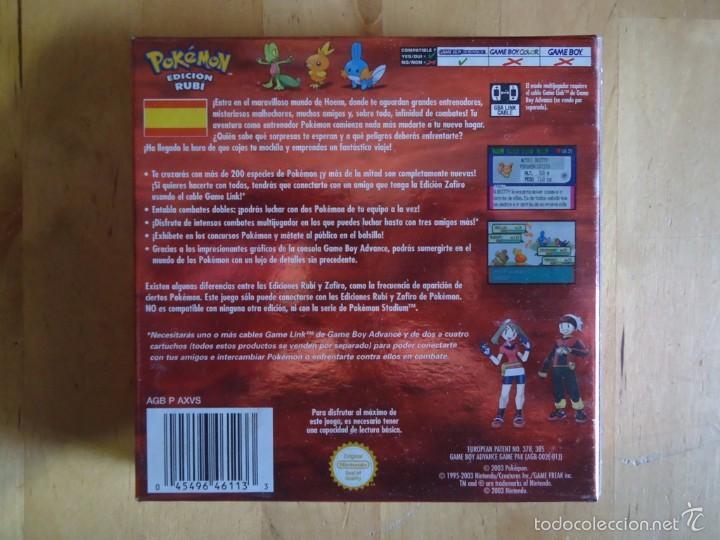 Juguetes antiguos y Juegos de colección: POKÉMON NINTENDO GAME BOY COLOR ADVANCE DS 64 PC ROJO AZUL AMARILLO CRISTAL PINBALL STADIUM MINI - Foto 38 - 61138795