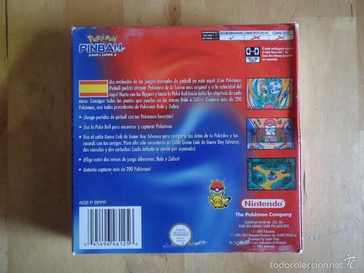 Juguetes antiguos y Juegos de colección: POKÉMON NINTENDO GAME BOY COLOR ADVANCE DS 64 PC ROJO AZUL AMARILLO CRISTAL PINBALL STADIUM MINI - Foto 44 - 61138795
