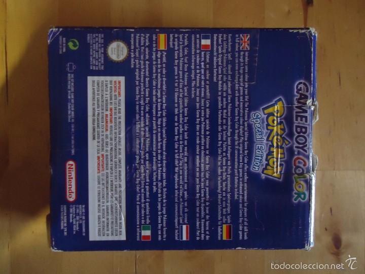 Juguetes antiguos y Juegos de colección: POKÉMON NINTENDO GAME BOY COLOR ADVANCE DS 64 PC ROJO AZUL AMARILLO CRISTAL PINBALL STADIUM MINI - Foto 138 - 61138795