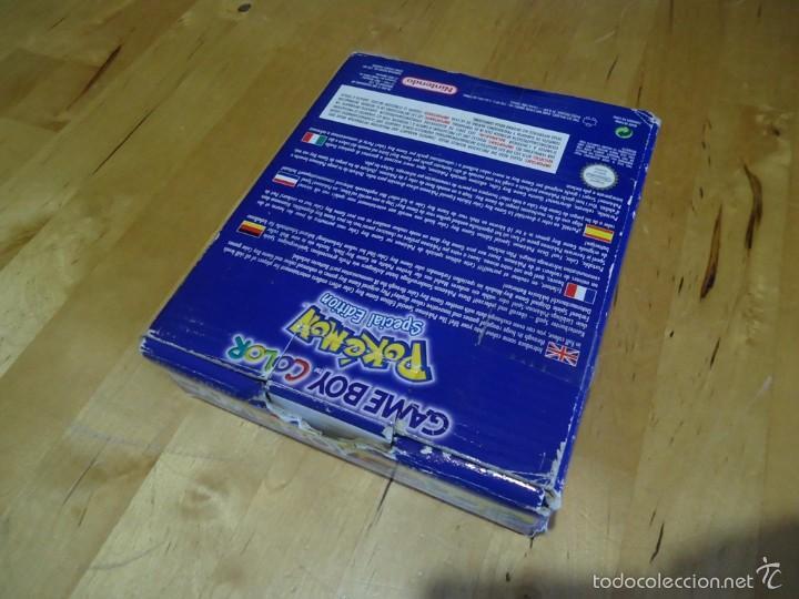 Juguetes antiguos y Juegos de colección: POKÉMON NINTENDO GAME BOY COLOR ADVANCE DS 64 PC ROJO AZUL AMARILLO CRISTAL PINBALL STADIUM MINI - Foto 140 - 61138795