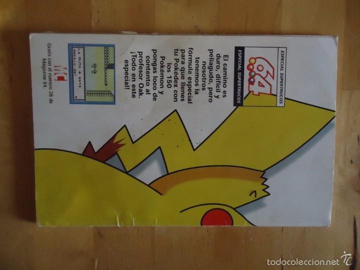 Juguetes antiguos y Juegos de colección: POKÉMON NINTENDO GAME BOY COLOR ADVANCE DS 64 PC ROJO AZUL AMARILLO CRISTAL PINBALL STADIUM MINI - Foto 144 - 61138795
